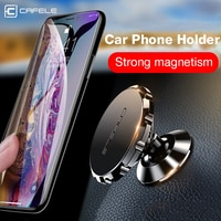 CAFELE אוניברסלי מגנטי מכונית טלפון בעל טלפון במכונית מחזיק Stand עבור טלפון סלולרי נייד טלפון מגנט הר אלומיניום סגסוגת