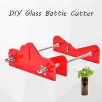 유리 병 커터-도구 절단 유리 전문 DIY 와인 맥주 스크루 드라이버 스테인레스 스틸 조정 가능한 diy에 대한 새로운 DIY A