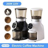 YTK-가정용 전기 다기능 커피 그라인더, 스테인리스 스틸, 콩 스파이스 메이커, 그라인딩 머신