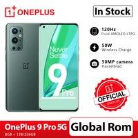 OnePlus 9 Pro 8GB 256GB Smartphone Snapdragon 888 5G 6.7 ''120Hz Flüssigkeit Display 2,0 Hasselblad 50MP Kamera OnePlus Offizielle Shop; code: