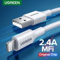 Ugreen MFi USB Kabel für iPhone 13 12 Pro Max 2,4 EINE Schnelle Lade USB Ladegerät für iPhone 11 XR xs 8 7 Datenkabel USB Ladung Schnur