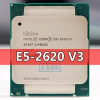 Intel Xeon Prozessor E5 2620 V3 CPU 2,4G Dienen LGA 2011-3 E5-2620 V3 2620V3 PC Desktop-prozessor CPU Für X99 motherboard