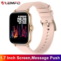 LEMFO Y20 P8 플러스 여자 스마트 워치 2021 전체 터치 스크린 피트니스 트래커 IP67 방수 Smartwatch 2021 GTS 2