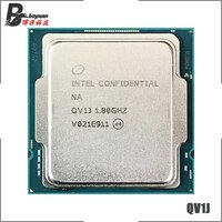 Intel Core i7 11700 ES QV1J Acht-Core Sechzehn-Gewinde CPU Prozessor 65W 16M Müssen B560 z590 Motherboard buchse 1200 LGA