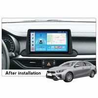 Auto Radio Kompatibel für Kia CERATO 4 Forte K3 2018 2019 2020 2021 Multimedia Video Player 1280*720 IPS bildschirm Octa-core