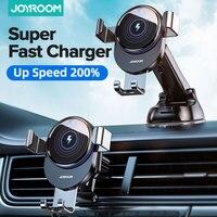 מכונית טלפון בעל 15W אלחוטי מטען מהיר מטען לרכב Mounts טבעת LED אור רכב מחזיק עבור iPhone12 11 פרו מקסימום Sumsang
