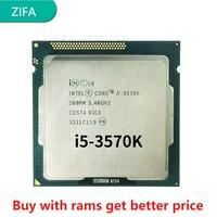 Verwendet Intel Core i5 3570K 3,4 GHz 6MB 5,0 GT/s SR0PM LGA 1155 CPU Prozessor