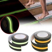 Luminous Anti Slip Tape 5M Floor Safety Luminous Strip Reflective Strip Non Skid Tape Anti Slip Adhesive Stickers High Grip