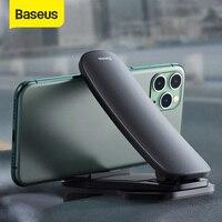 Baseus רכב מרכז קונסולת טלפון הר מתכוונן אוניברסלי לוח מחוונים טלפון נייד מחזיק טלפון לרכב סוגר עבור iPhone Xiaomi