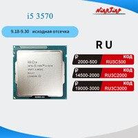 Intel Core i5-3570 i5 3570 3,4 GHz Quad-Core Quad-Gewinde CPU Prozessor 6M 77W LGA 1155