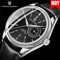 2021 PAGANI DESIGN New Mens Watch Luxury Sapphire Crystal Japan VH65 Quartz Movement mechanical style move hand 20Bar waterproof
