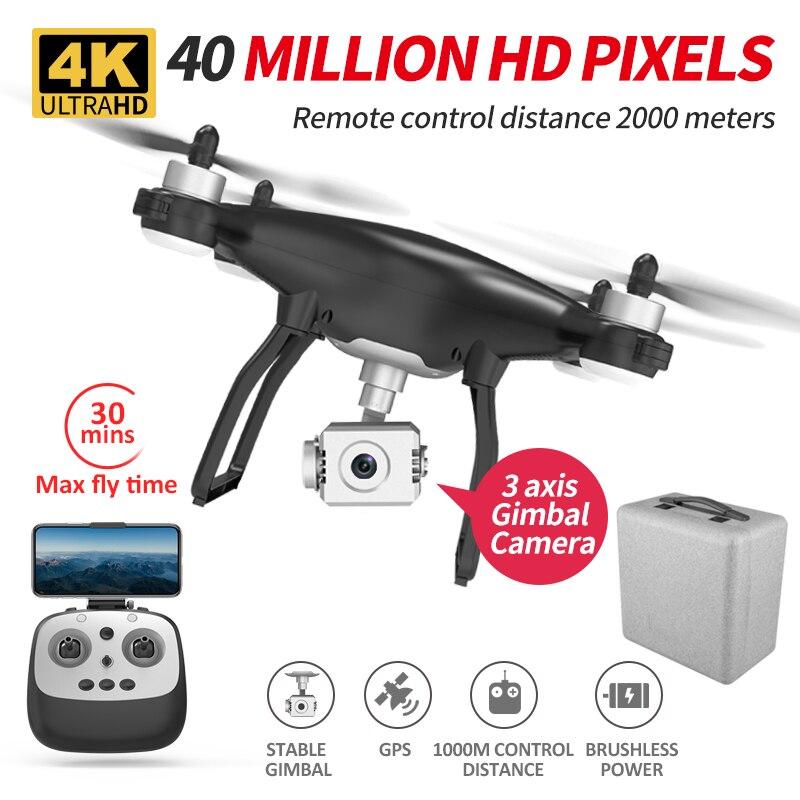 X35 drei achsen pan tilt 4K5G GPS Quadcopter eders drohne berufs rc Drone spielzeug Spielzeug Quadcopter mit kamera quadrocopter mit