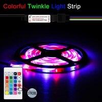 5V USB LED Strip Lamp RGB Waterproof Strip Light Flexible LED Light Tape Ribbon LED TV Backlight Lighting Decoration Lamp 2835