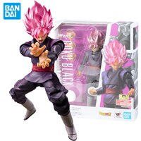 Bandai Dragon Ball Z Super Saiyan God of Creation Rose Zamasu Supreme Kai Black Goku Dbz Figurine Action Figure Collect Kids Toy
