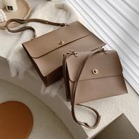 Vintage Fashion Female Large Tote Bag 2021 New Quality PU Leather Women's Designer Handbag High capacity Shoulder Messenger bags