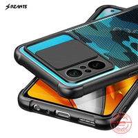 Rzants Für Xiaomi POCO F3 Xiaomi Redmi K40 Pro Xiaomi MI 11i Fall Weiche [Camouflage Objektiv] Kamera Schutz schlank Klar Abdeckung