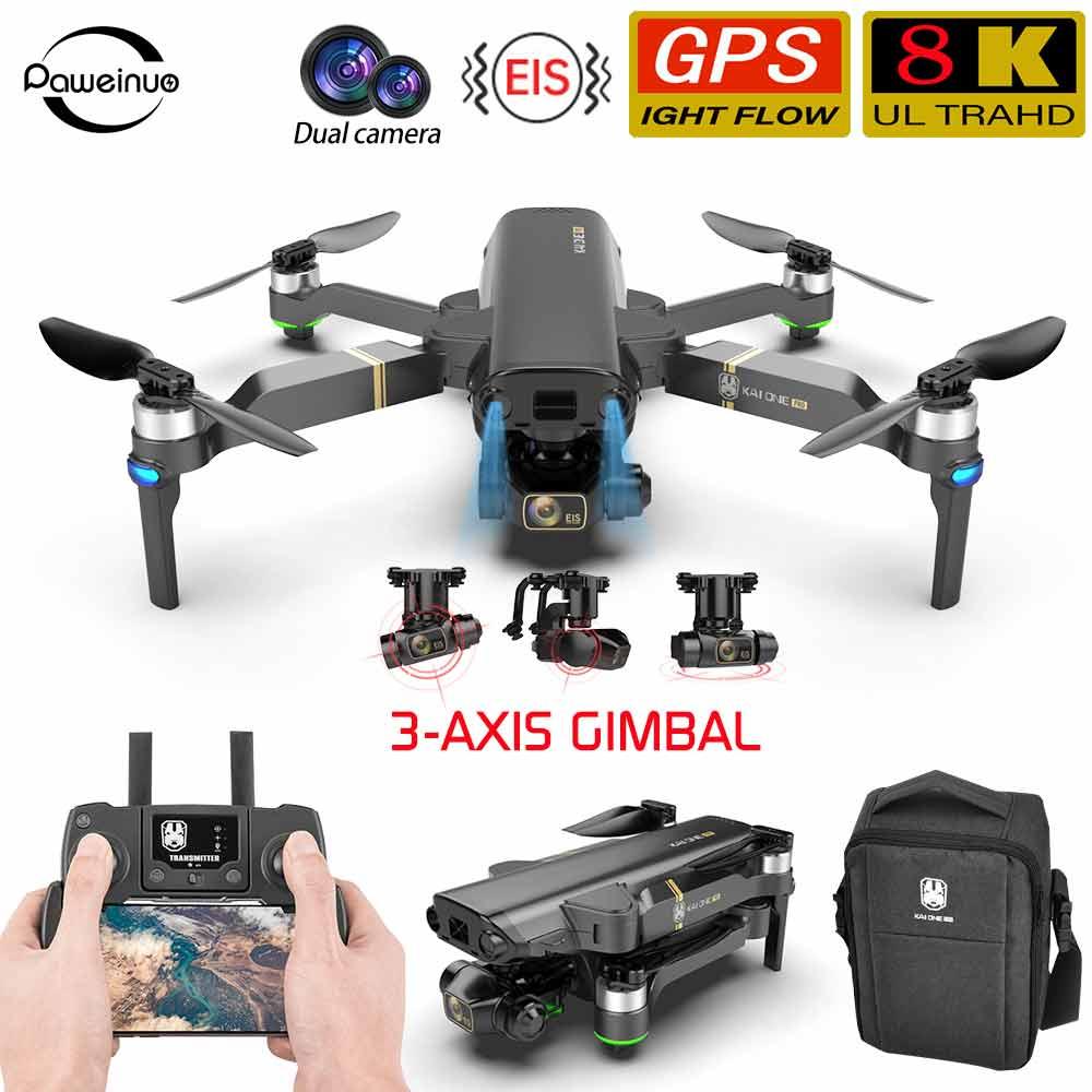 8k kamera drone rc hubschrauber Hindernis Vermeidung 3-achsen gimbal Quadcopter mit kamera hd ufo eachine ex4 sg906 pro gps eders 4k