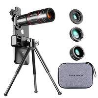 Tongdaytech 28X HD Handy Kamera Objektiv Teleskop Zoom Makro Objektiv für Iphone Samsung Smartphone Fisch Auge Lente Para Celular