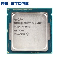 Verwendet Intel Core i5 4690K 3,5 GHz 6MB Sockel LGA 1150 Quad-Core CPU Prozessor SR21A