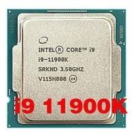 Intel Core i9 11900K ES QV1K Acht-Core Sechzehn-Gewinde CPU Prozessor 65W 16M Müssen b560 Z590 Motherboard 1200 LGA Sockel