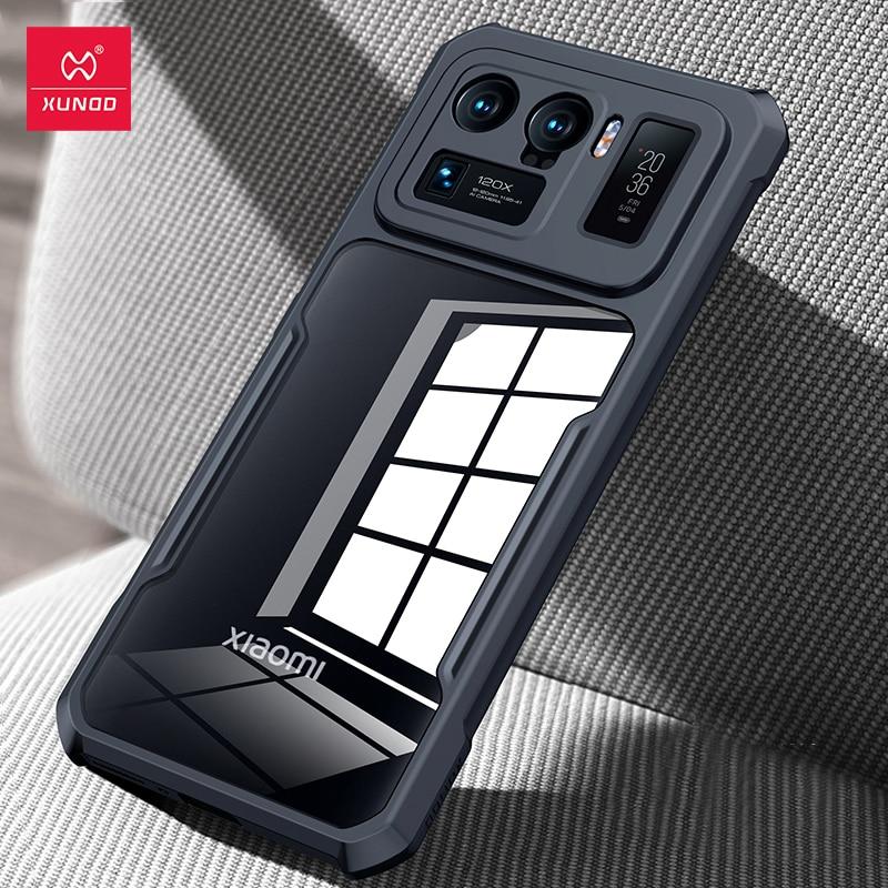 Xundd-funda protectora para Xiaomi Mi 11 Ultra, carcasa transparente a prueba de golpes, Airbag fino suave para teléfono Mi 11 Ultra