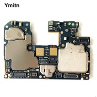 Ymitn Original For Xiaomi RedMi hongmi Note9 Note 9 Mainboard Motherboard Unlocked With Chips Logic Board Global Vesion