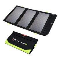 ALLPOWERS פנל סולארי 5V 21W Built-in 10000mAh סוללה נייד שמש מטען עמיד למים שמש סוללה עבור טלפון נייד חיצוני