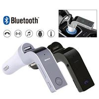 2021 auto Zigarette Leichter G7 Auto Kit Bluetooth Hands-Free FM Transmitter Typ USB Radio MP3 Player Adapter Drop verschiffen Heißer