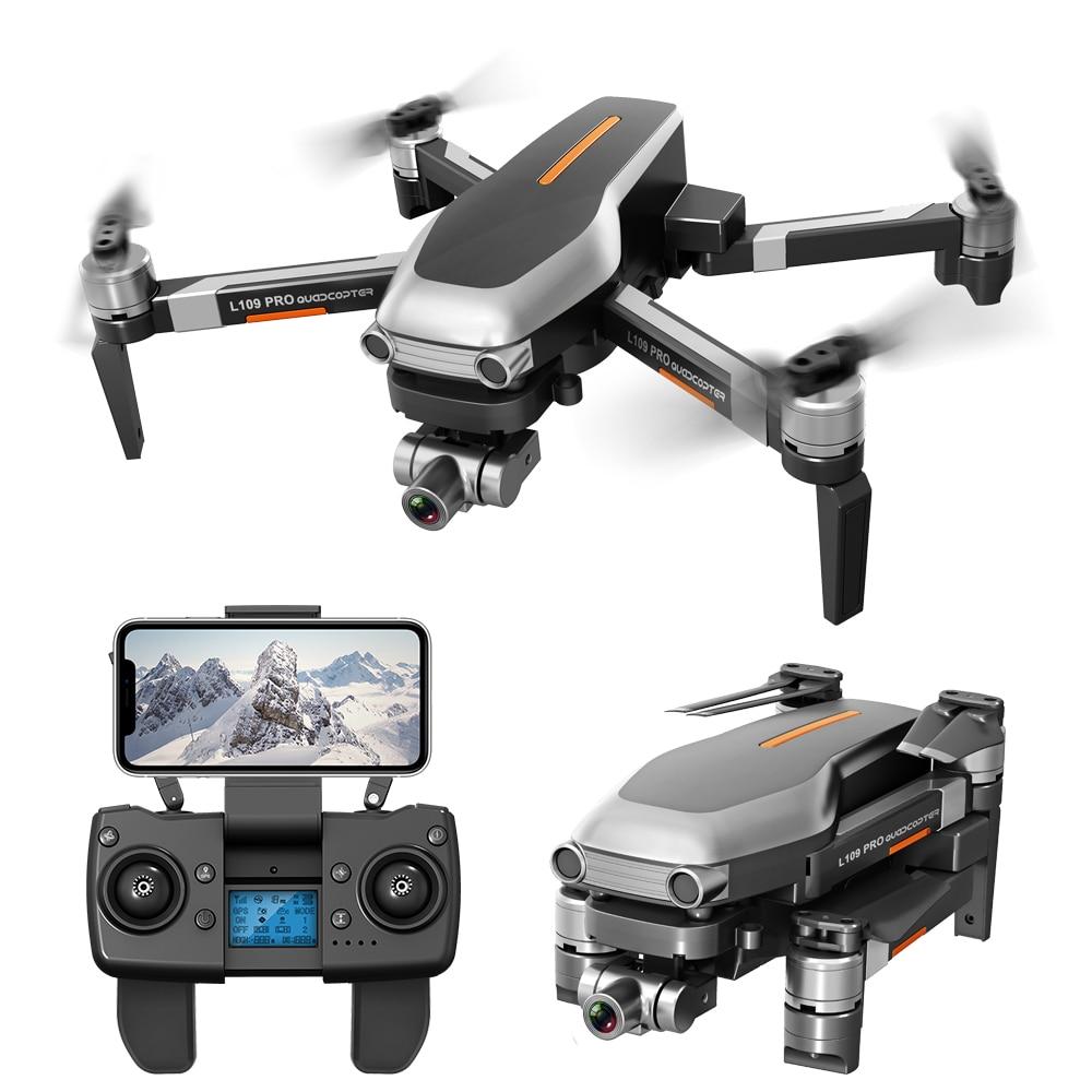 L109 PRO 5G GPS Drone Mit 2-Achsen Gimbal Anti-schütteln Selfstabilizing Wifi FPV 4K Kamera bürstenlosen Quadcopter VS SG906 PRO F11