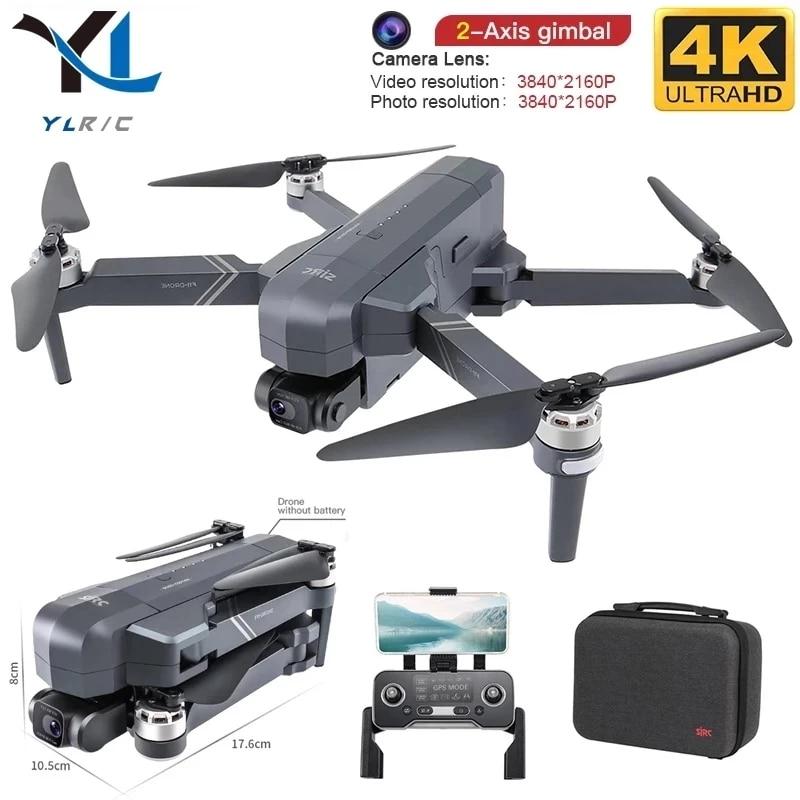 Neue F11 PRO professional 4K HD kamera PTZ drone bürstenlosen 5G Wifi Gps system unterstützt 128G TF karte RC Quadcopter drone