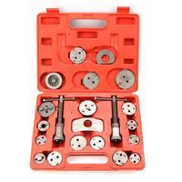 Conjunto de ferramentas para pistão da pinça de freio automotiva, ferramentas de ajuste de freio automotivo, placa de suporte, 21 peças