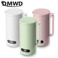 DMWD 350ML 자동 두유 기계 과일 제조기 Juicer 야채 추출기 식품 블렌더 필터 무료 콩 쌀 붙여 넣기 110/220V