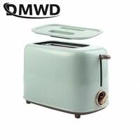 DMWD-2 조각 전기 스테인레스 스틸 토스터, 자동 빵 제조기, 아침 식사, 베이킹 기계, 2 슬롯 토스트, 샌드위치 그릴 오븐