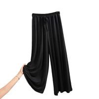Pajamas Sleep Bottoms Soft Women Long Modal Cotton sleep pants lounge at home pants Women Spring Summer домашние штаны 2020