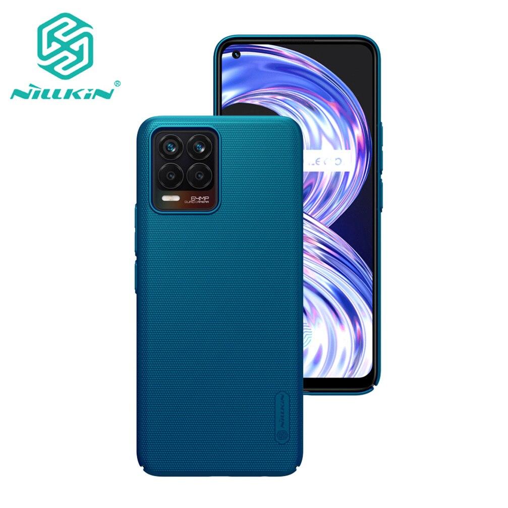 NILLKIN-funda rígida para teléfono móvil For OPPO Realme 8, carcasa trasera ultrafina para Realme 8 Pro