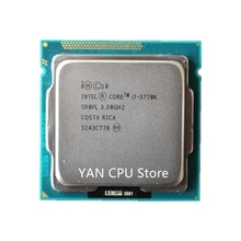 Kostenloser versand Intel Core i7-3770K i7 3770K 3,5 GHz Quad-Core CPU Prozessor 8M 77W LGA 1155