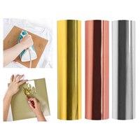 홀로그램 열전달 비닐 롤 30x100cm HTV 금속 호일 철 비닐에 DIY 티셔츠 또는 직물, 예술 및 공예용