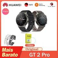 HUAWEI Watch GT2 Pro GT 2 SmartWatch 14 일 배터리 수명 GPS 무선 충전 KirinA1 راقglobal Global Version