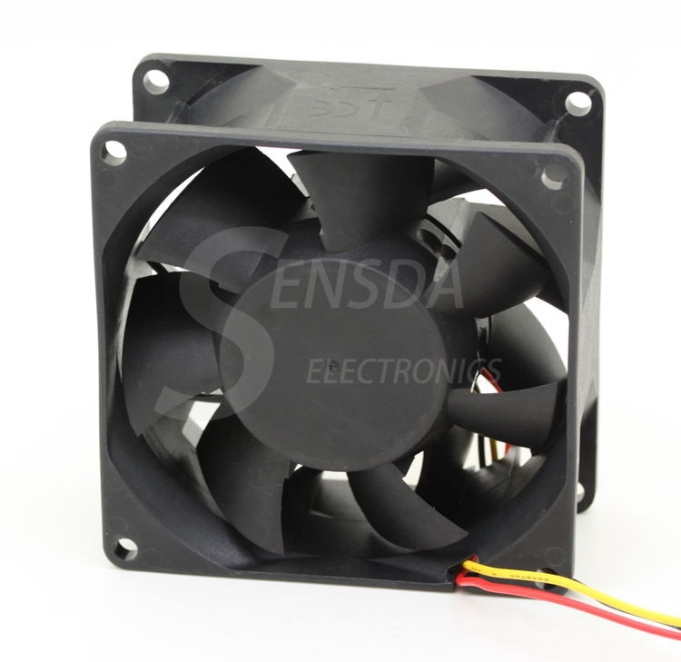 SUNON PMD1208PMB1-A 8038 80mm 8cm DC 12V 9.1W Server Square 4-wire pwm server inverter axial cooling fans