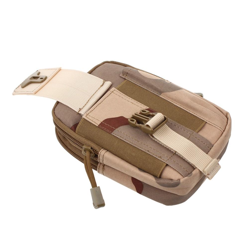 Uniwersalny Odkryty Wojskowy Molle Tactical Kabura Pasa Biodrowego Pasa Torba portfel kieszonki kiesy telefon etui z zamkiem błyskawicznym na iphone 7/lg 15