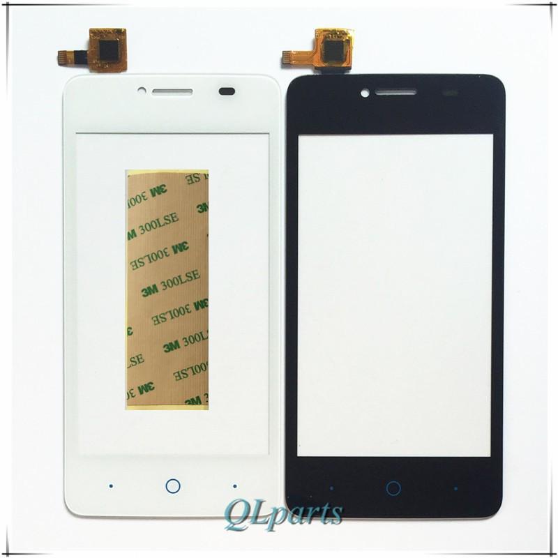 """4 """"ekran dotykowy czujnik do zte blade af3 t221 a5 a5 pro ekran dotykowy przedni panel dotykowy szkło digitizer wymiana z naklejki 1"""