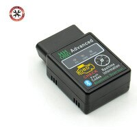 HH OBD Mini ELM327 Bluetooth OBDII Auto Scanner Mini elm327 obd2 Auto diagnose-tool ULME 327 funktioniert auf Android drehmoment Freies Schiff