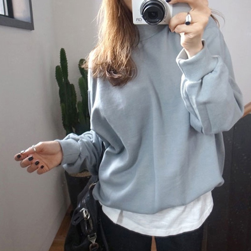Moda Wiosna Jesień Kobiety Bluzy Dorywczo Bluza bluzy cukierki płaszcz kurtka outwear Tops 5