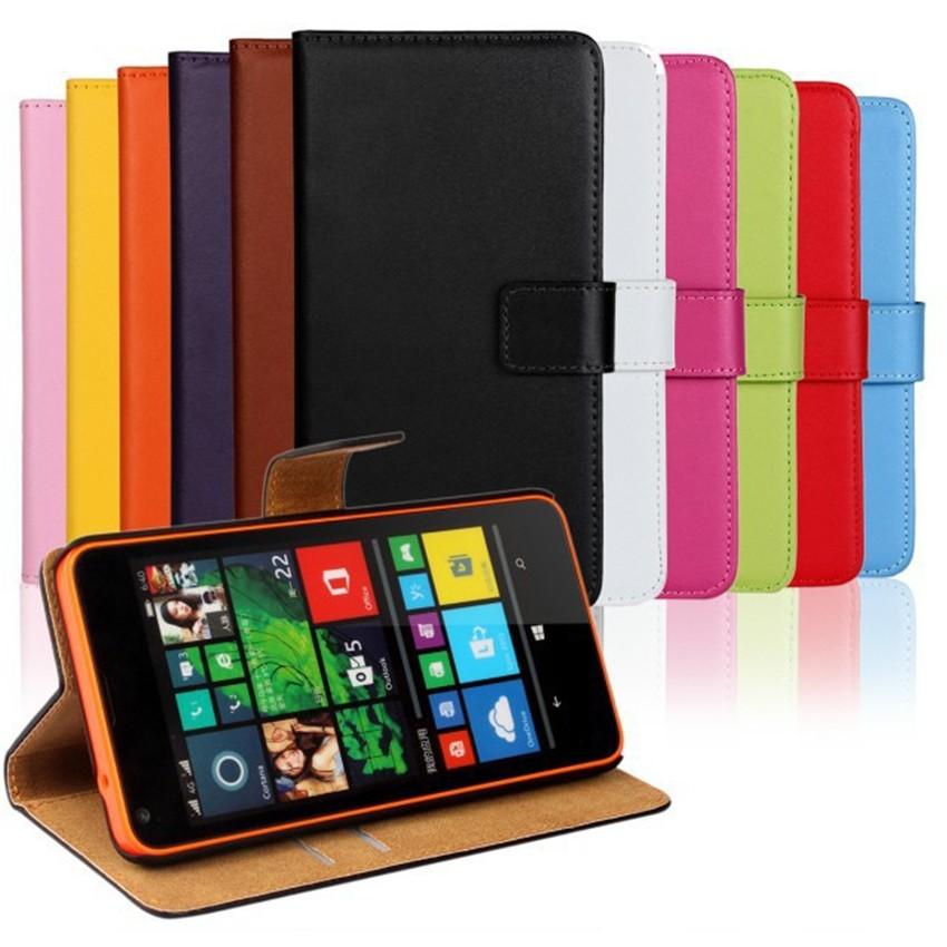 Luksusowe odwróć portfel genuine leather case pokrywa dla microsoft lumia 640 lte dual sim cell phone case do nokia 640 n640 powrót pokrywa 1