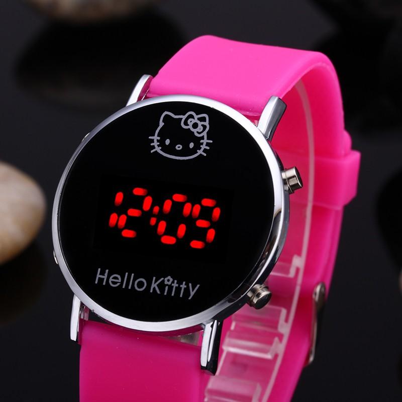 Tüdrukute Hello Kitty kellad
