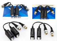 20 STÜCKE (10 pairs) HD CCTV Über Twisted Adapter HD CVI/TVI AHD Passive Video Balun Bnc zu UTP Cat5/5e/6 Netzwerk Kamera