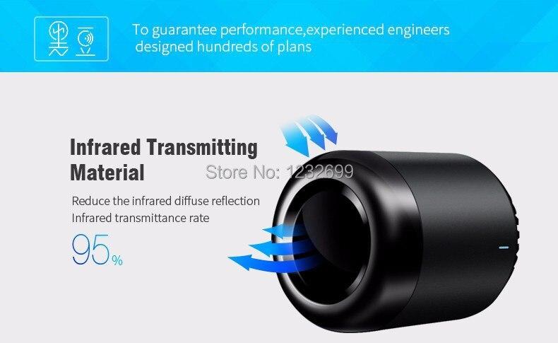 Oryginalny Mini3 Uniwersalny Inteligentny WiFi Broadlink RM/IR/4G Bezprzewodowego Pilota zdalnego sterowania Poprzez IOS Android Inteligentnego Domu automatyki 10