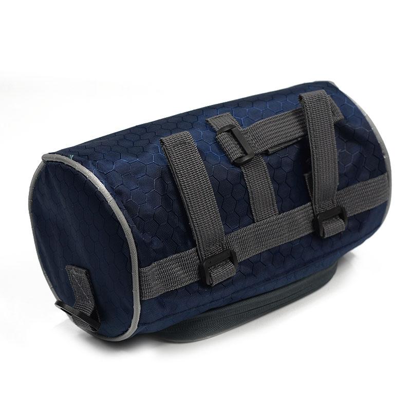 Wodoodporny Ekran Dotykowy Sakwy Rowerowe Rower Górski Rower Torby Phone Bag Case Rower Szosowy Rura Przednia Kierownica Torba Cylindra 19