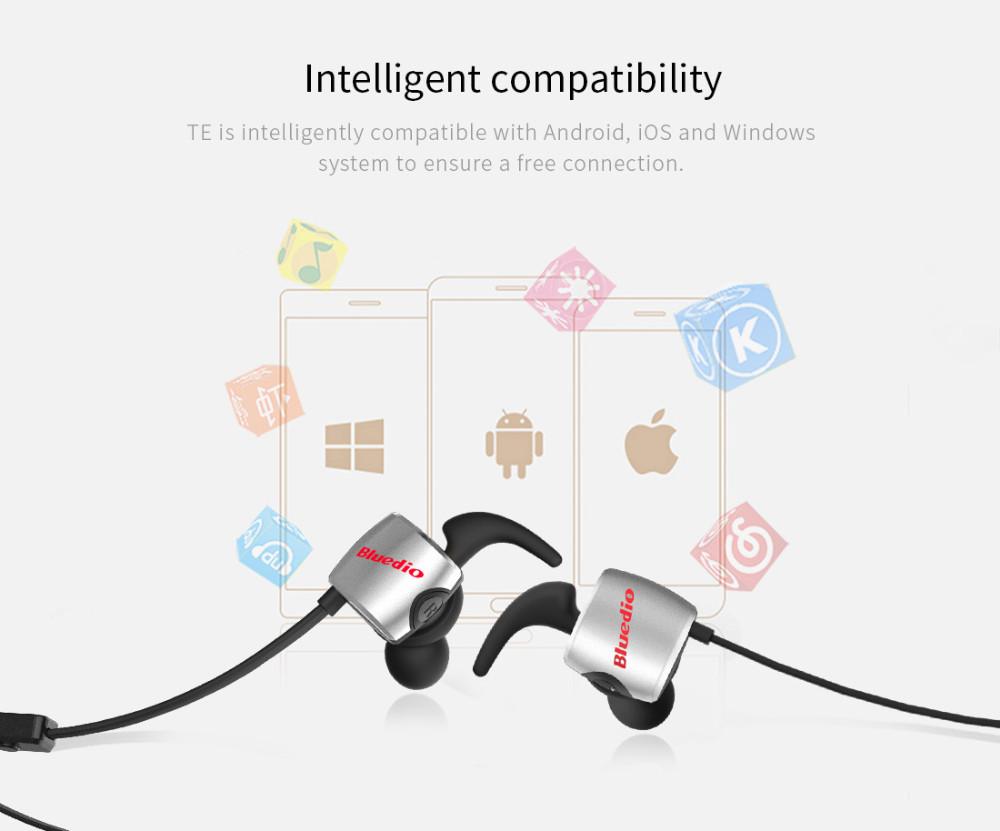 Te bluedio sport zestaw słuchawkowy bluetooth/pot dowód słuchawki bezprzewodowe słuchawki douszne earbuds wbudowany mikrofon 6