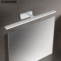 JUSHENG-모던 욕실 led 조명, 메이크업 램프, 욕실, 욕실 장비, 거울 램프, 9W, 12W, 14W, 16W18W, 벽 램프